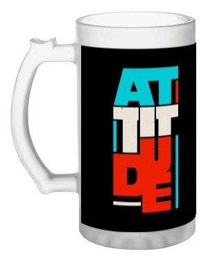 attitude, Beer Mug