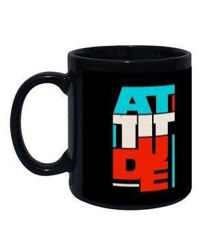 attitude, Black Mug