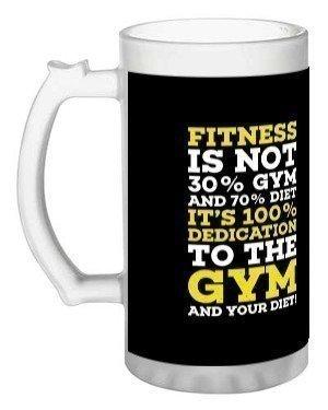 fitness, Beer Mug