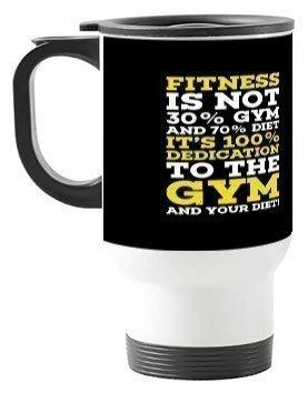 fitness, Steel Travelling Mug