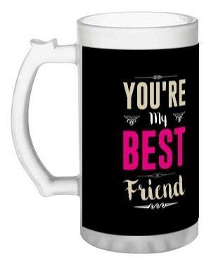 best friend, Beer Mug