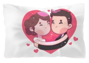 couple, Pillow