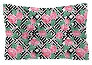 Floral pillow, Pillow