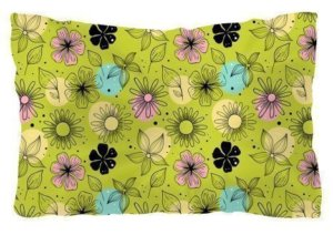 Beautiful print pillow