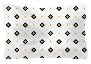 Diamond seamless, Pillow