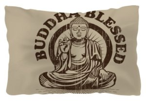 Buddha blessed, Pillow