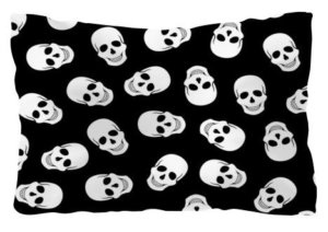 Skull seamless, Pillow