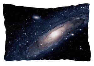Galaxy pillow, Pillow