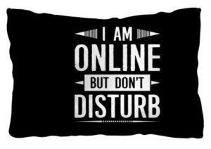 I am online pillow