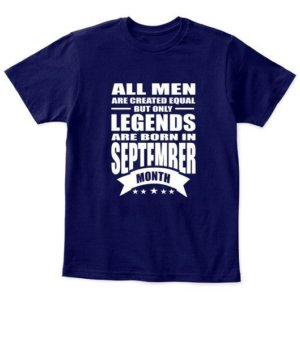 September Legends – All men are created equal