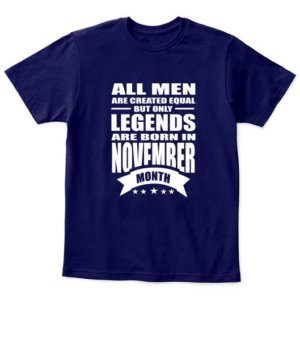 November Legends – All men are created equal