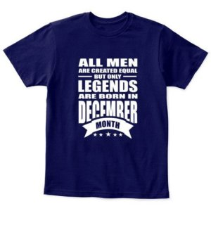 December Legends – All men are created equal