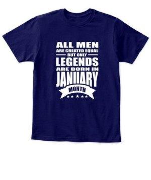 January Legends – All men are created equal