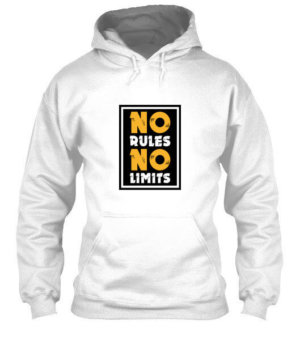 No Rules No Limits, Men's Hoodies