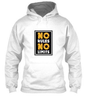 No Rules No Limits, Men's Hoodies