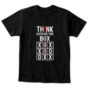 Think Outside The Box, Kid's Unisex Round Neck T-shirt