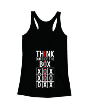 Think Outside The Box, Women's Tank Top