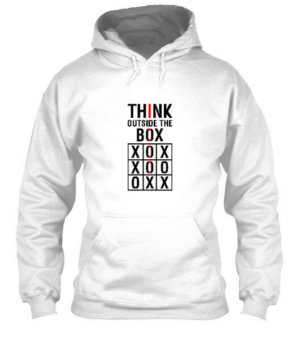 Think Outside The Box, Men's Hoodies