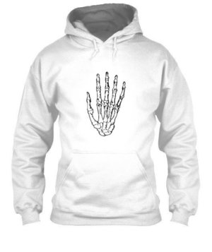 Skeleton Hand, Men's Hoodies