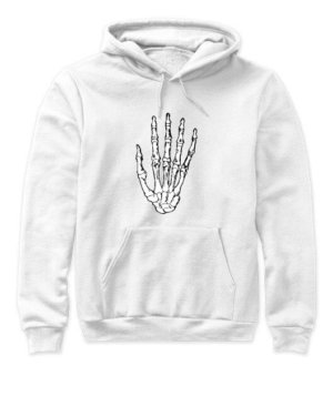 Skeleton Hand, Women's Hoodies