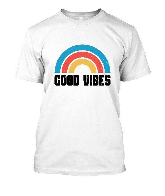 Good Vibes, Men's Round T-shirt