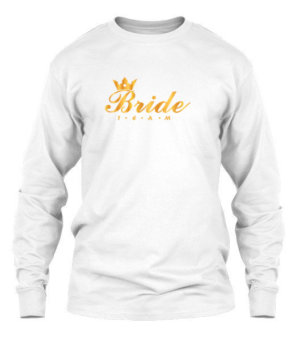 Bride Team, Men's Long Sleeves T-shirt