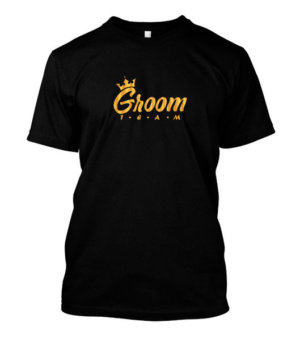 Groom Team, Men's Round T-shirt