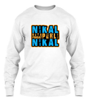 NIKAL BETA, Men's Long Sleeves T-shirt