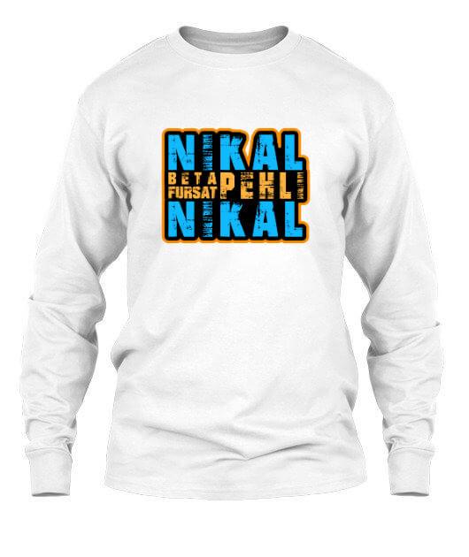 NIKAL BETA, Men's Long Sleeves T-shirt