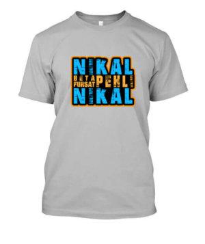 NIKAL BETA, Men's Round T-shirt