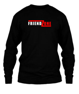 FRIEND ZONE, Men's Long Sleeves T-shirt