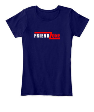 FRIEND ZONE, Women's Round Neck T-shirt