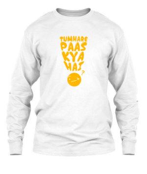 TUMHARE PASS KYA HAI, Men's Long Sleeves T-shirt