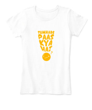 TUMHARE PASS KYA HAI, Women's Round Neck T-shirt