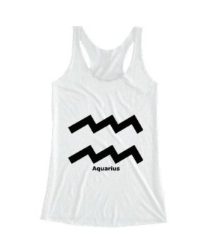 Aquarius Symbol, Women's Tank Top