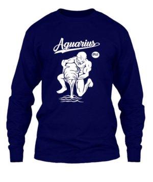 Aquarius Tshirt, Men's Long Sleeves T-shirt