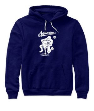 Aquarius Tshirt, Women's Hoodies