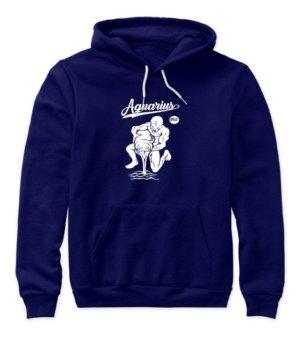 Aquarius Tshirt, Women's Hoodies