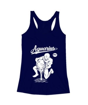 Aquarius Tshirt, Women's Tank Top