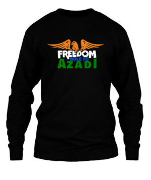 Bole to Azadi, Men's Long Sleeves T-shirt