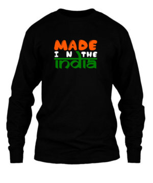 Made in The INDIA, Men's Long Sleeves T-shirt