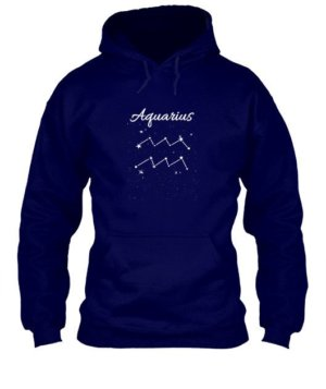 Constellation-Aquarius Tshirt, Men's Hoodies