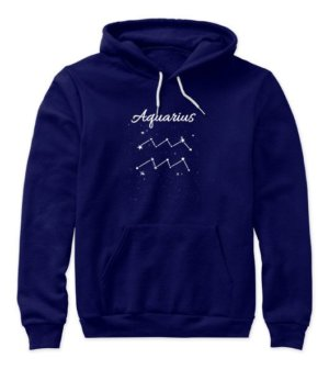 Constellation-Aquarius Tshirt, Women's Hoodies
