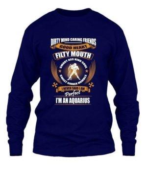 I'm an aquarius, Men's Long Sleeves T-shirt