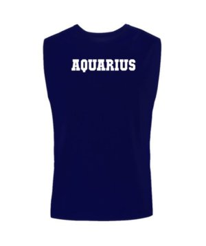 AQUARIUS, Men's Sleeveless T-shirt