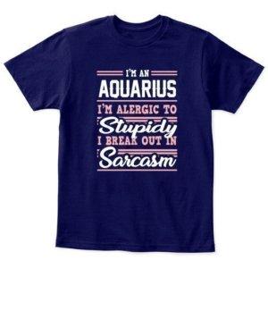 Aquarius-Funny Tshirt