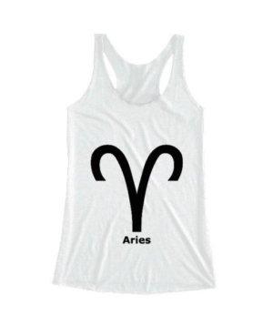 Aries Symbol, Women's Tank Top