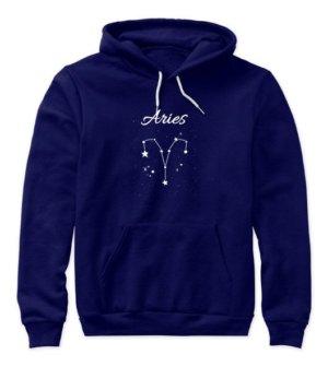 Constellation-Aries Tshirt, Women's Hoodies