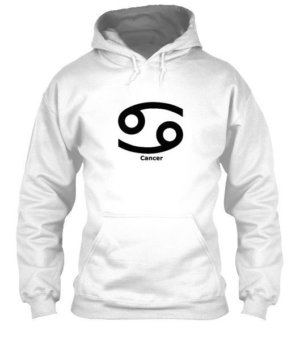 Cancer Symbol, Men's Hoodies