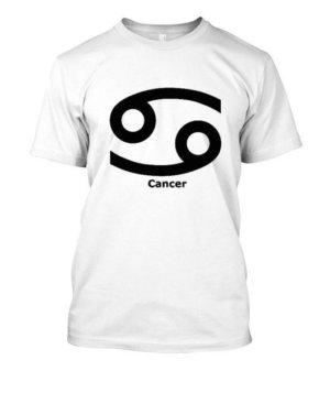 Cancer Symbol, Men's Round T-shirt